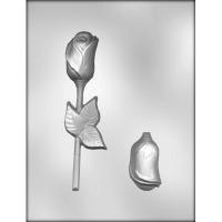 3-D Rose w/ Leaf Mold (2)