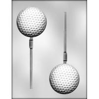 """3"""" Golf Ball Sucker Mold (2)"""