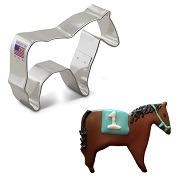 """3"""" Horse Cookie Cutter"""