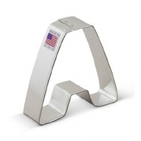 "3"" Cookie Cutter Letter A"