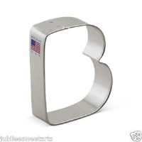 "3"" Cookie Cutter Letter B"