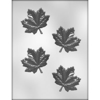 "3"" Maple Leaf Choc Mold (4)"