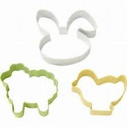 3-PC Easter Cookie Cutter Set