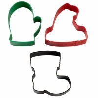 3-PC Winterwear Cookie Cutters