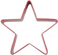 "3"" Red Star Cookie Cutter"