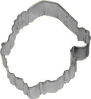 "3"" Santa Clause Cookie Cutter"