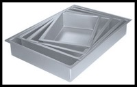 "3"" Sheet Cake Pan Set of 11"