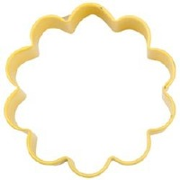 "3"" Yellow Flower Cookie Cutter"