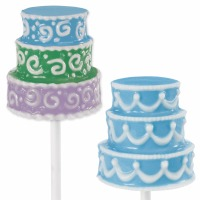 3D Cake Large Lollipop Candy Mold