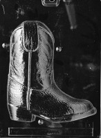 3D Cowboy Boot PC1 Mold