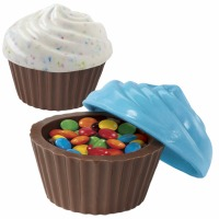 3D Cupcake Container Candy Mold