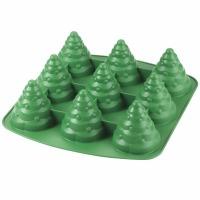3D Tree 9 Cav Silicon Mold