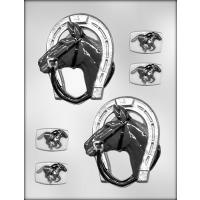 """4.3/8"""" Horse/Shoe Mold (3)"""