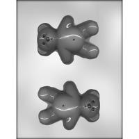 """4.5"""" Teddy Bear Chocolate Mold (2)"""