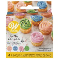 4-Color Pastel Icing Kit