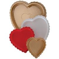 4 Ounce Gold Heart Box