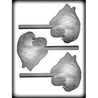 "4"" Panther Sucker Hard Candy Mold (3)"