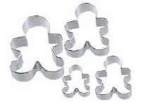 4-PC Boys Cookie Cutters
