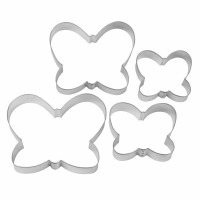 4-PC Butterflys Cookie Cutters