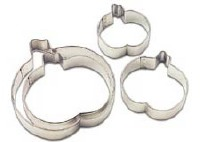 4-PC Pumpkin Cookie Cutter Set