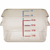 4 Quart Storage Container