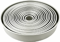 "4"" Round Pan Set of 12"