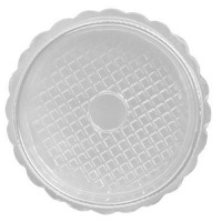 "5-3/4"" Round Box Clear Lid"