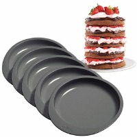 "6"" Cake Pan Set 5 PC"
