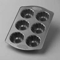 EE 6 CUP MINI FLUTED PAN