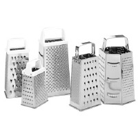 "6"" Grater Plastic Handle"