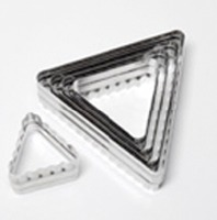 6-PC Double Sided Triangle Cut/St