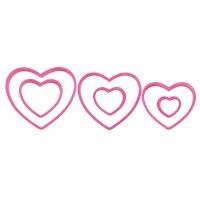 6-PC Heart Cookie Cutter Set