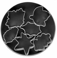 6-PC Leaf Cookie Cutter Set