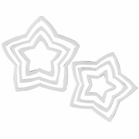6-PC Star Cookie Cutter Set