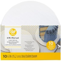 "Wilton 6"" Round Cake Board - 10 Pack"