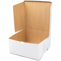"6"" X 6"" X 4"" Cake Box"