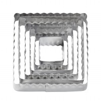 6PC Double Side Cutter Square