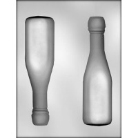 3D Champagne Bottle Mold