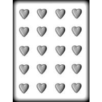 """7/8"""" Heart Mold Hard Candy (20)"""