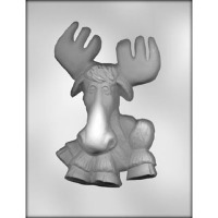 "7"" Moose Candy Mold (1)"