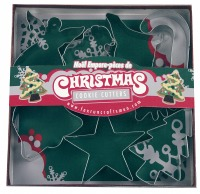 7-PC Christmas Cookie Cutters