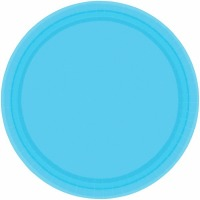 "7"" Plate 24 CT Crbn Blue"
