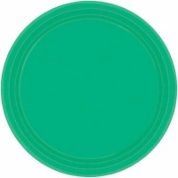 "7"" Plate 24 CT Festive Green"