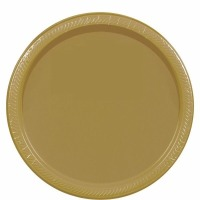 "7"" Plate 24 CT Gold"