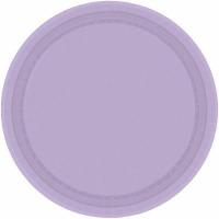 "7"" Plate 24 CT Lavender"