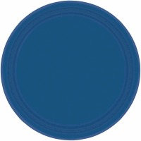 "7"" Plate 24 CT Navy Blue"