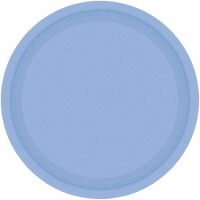 "7"" Plate 24 CT Pastel Blue"