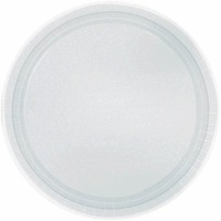 "7"" Plate 24 CT Silver"
