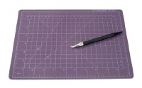 "8.5""X11.75"" Cutting Mat Knife"