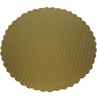 Gold 8 Inch Round Board Case 200 Count